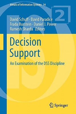 Decision Support By Schuff, David (EDT)